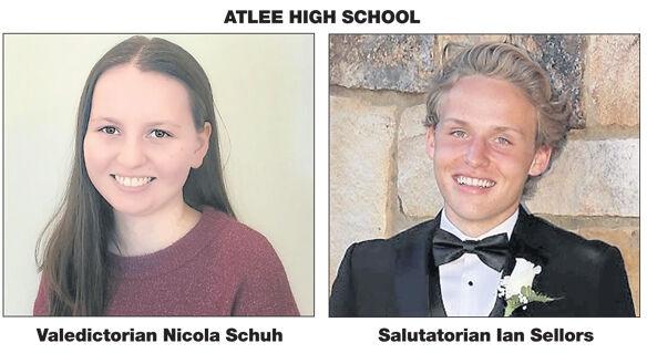 Schuh and Sellors lead Atlee as valedictorian, salutatorian