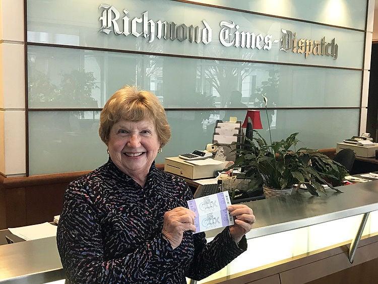 Mary Goodwyn Gregory won tickets to see Tony Bennett in Richmond