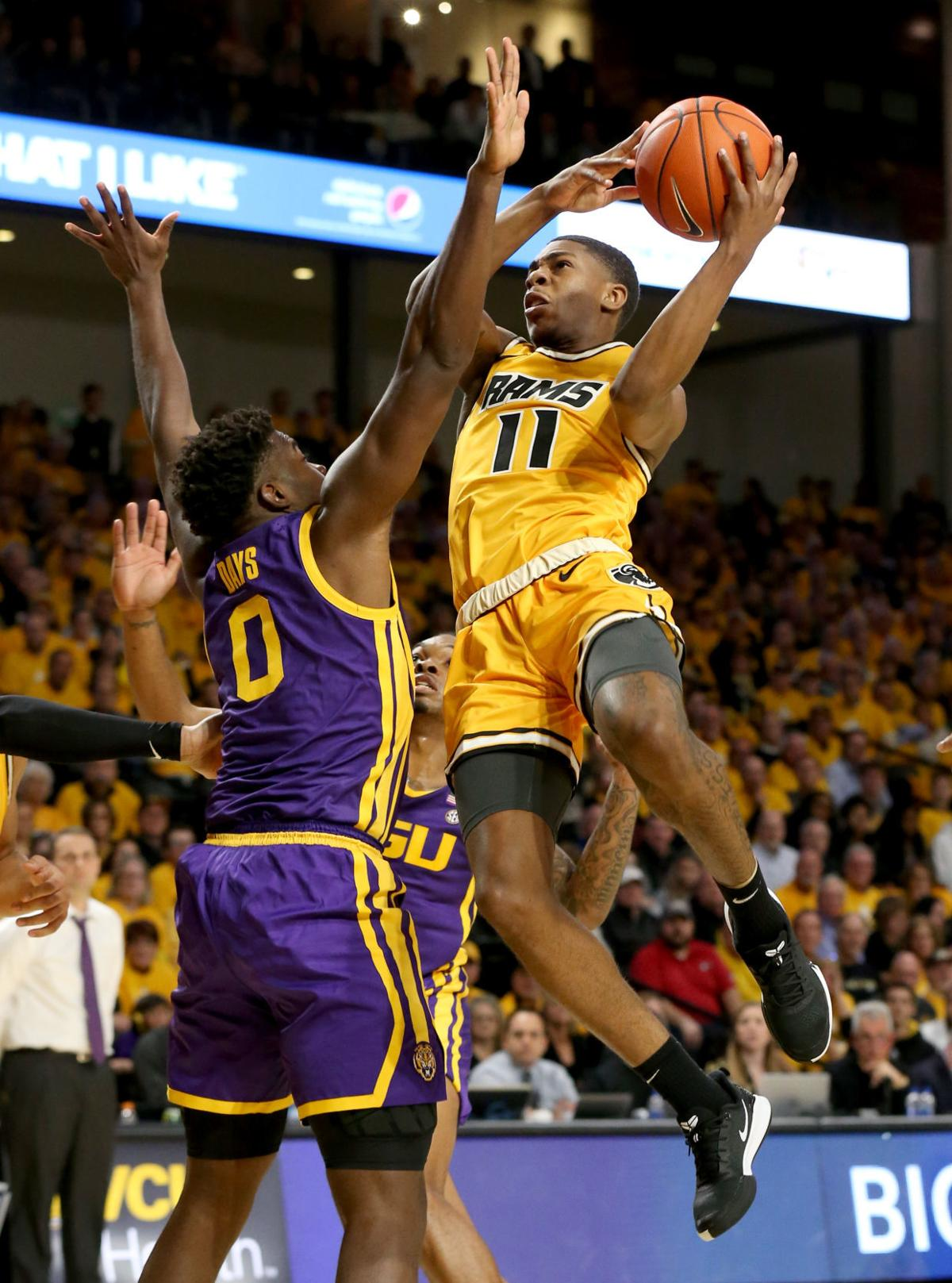 VCU men's basketball game vs. LSU