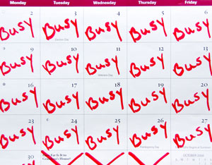 Dating with a busy schedule