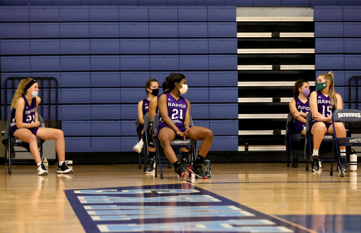 James River at L.C. Bird girls basketball game