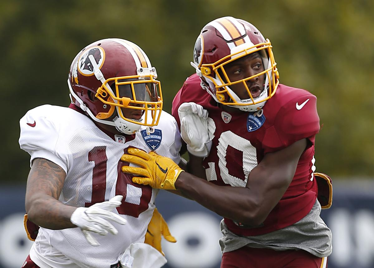 premium selection a0778 58522 Redskins players to watch Thursday: Ranthony Texada, Simmie ...