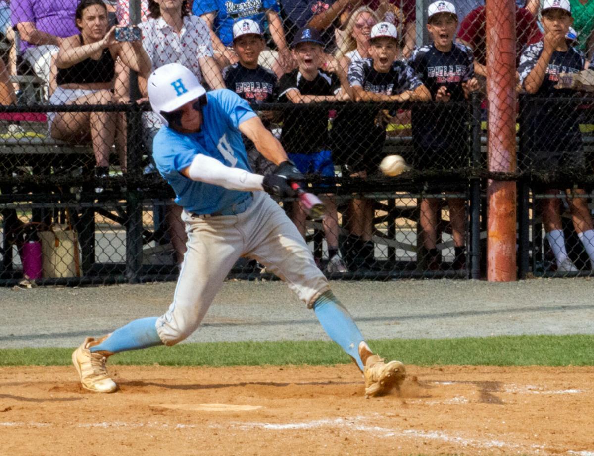 VHSL Class 4 baseball: Rohr gets on base