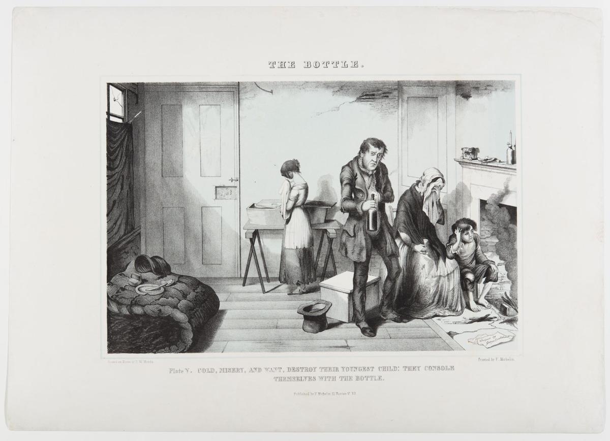 Prohibition lithograph 1847