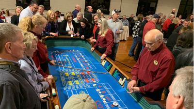 Rotary Club of Powhatan's Casino Night plays to win
