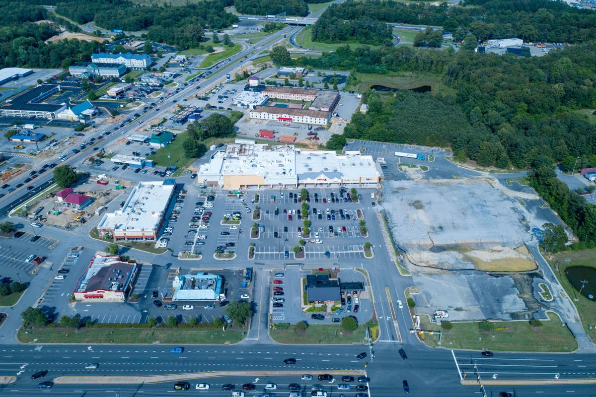 Bermuda Square shopping center in Chesterfield County