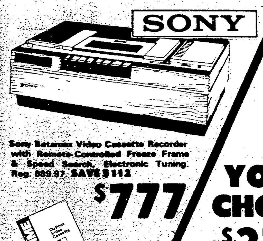 From the archives: Newspaper ads from the 80s | From the