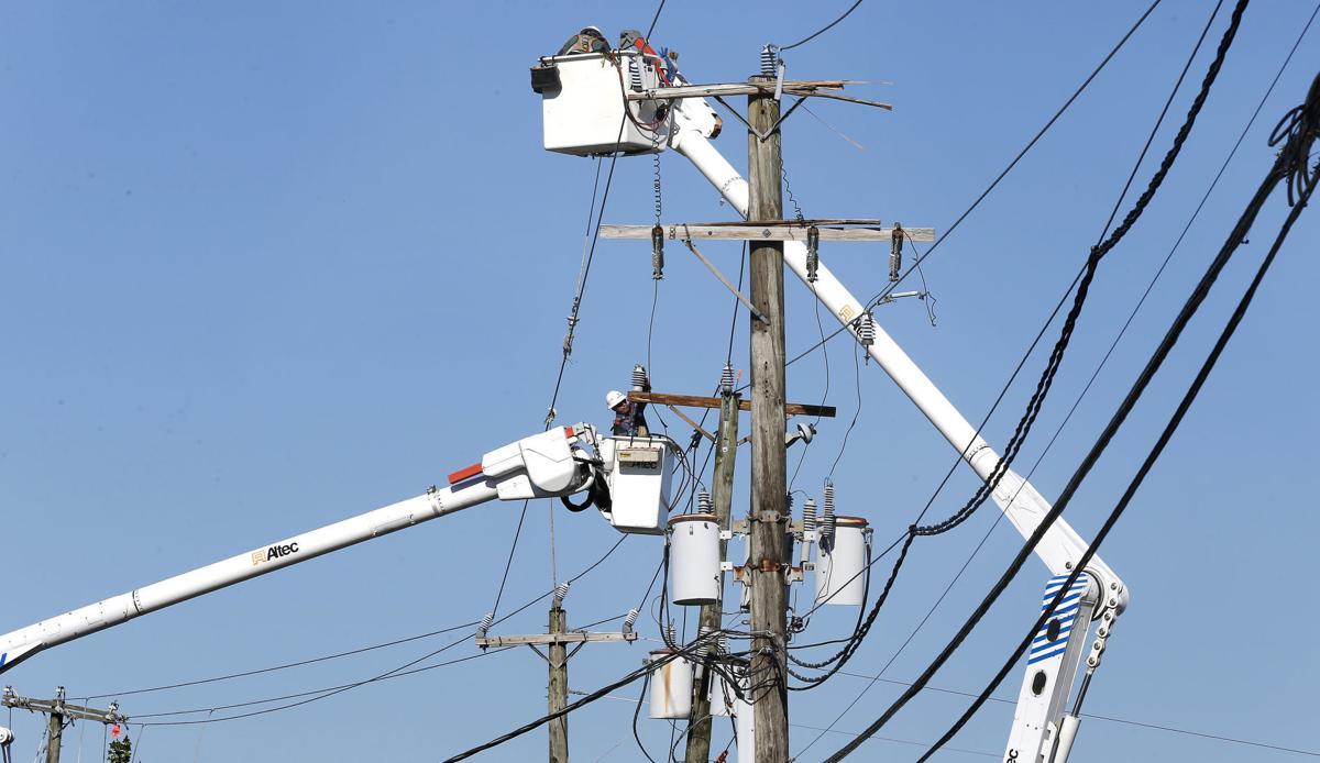 power pole repairs