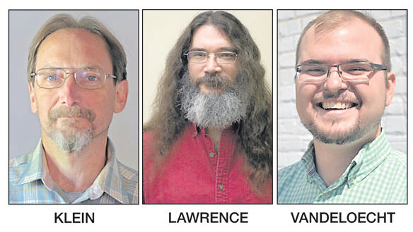 Joel Klein, Dave Lawrence and Nick Vandeloecht