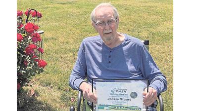 Jackie Stuart: DASH'S 301st RIDER
