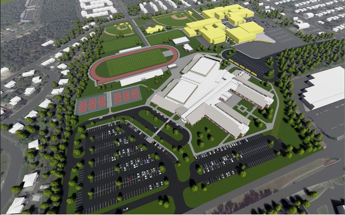 New Highland Springs HS rendering