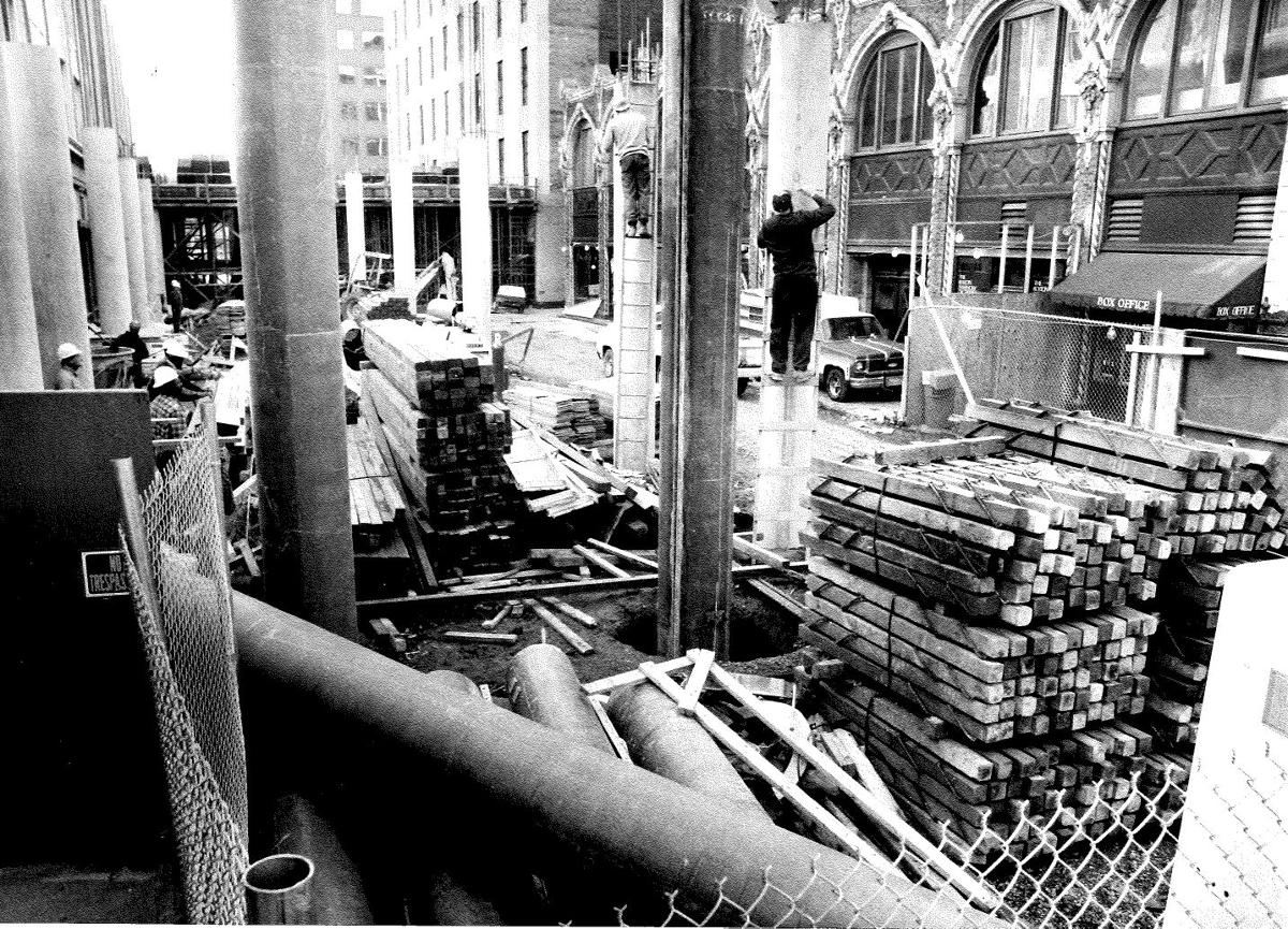 6th Street Marketplace: Construction progresses, 1984