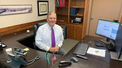 Ned Smither settles into role of county administrator