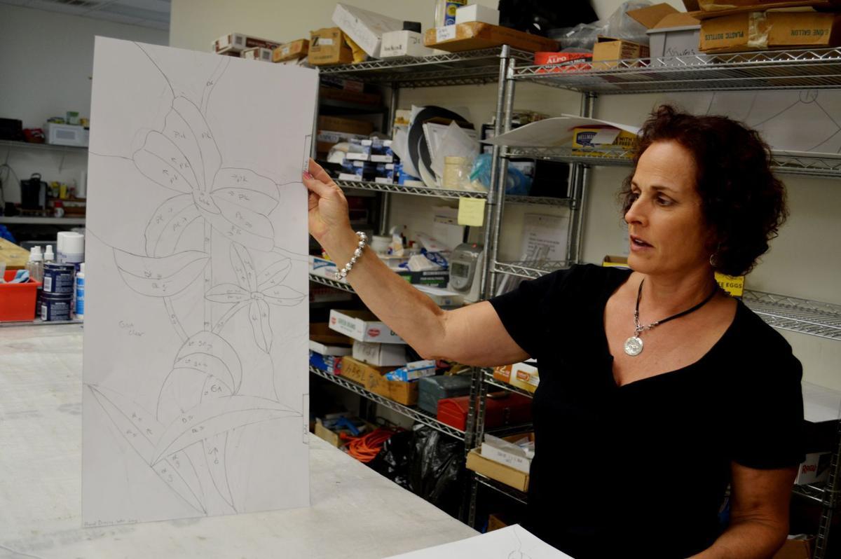 Diane Fairburn at Decorative Glass Solutions