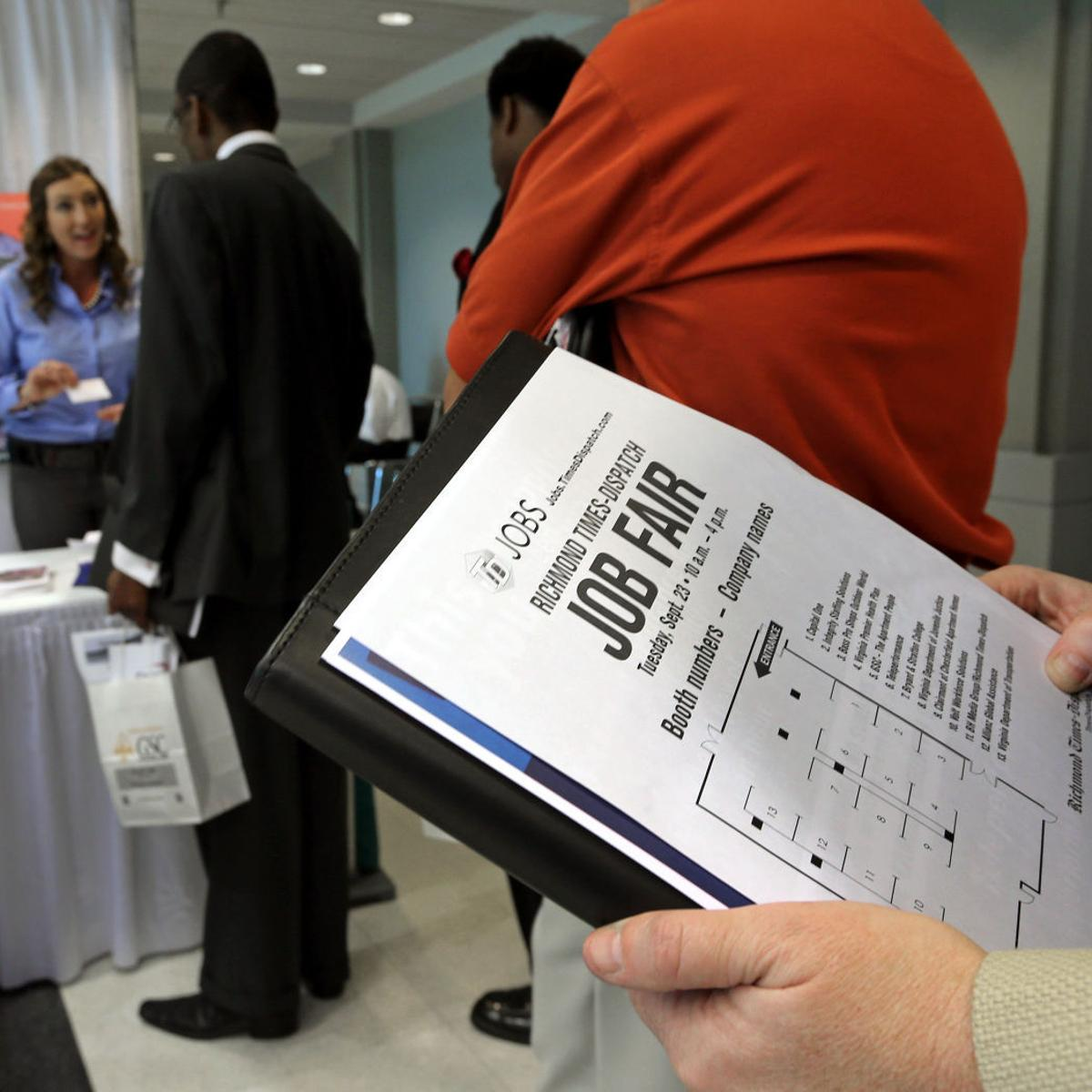 Richmond-area jobless rate rises in May from April, but