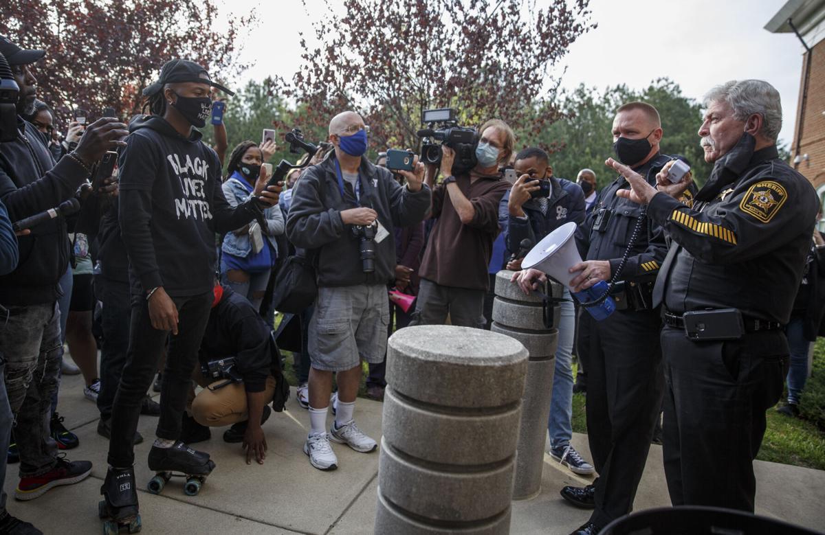 Spotsylvania protest