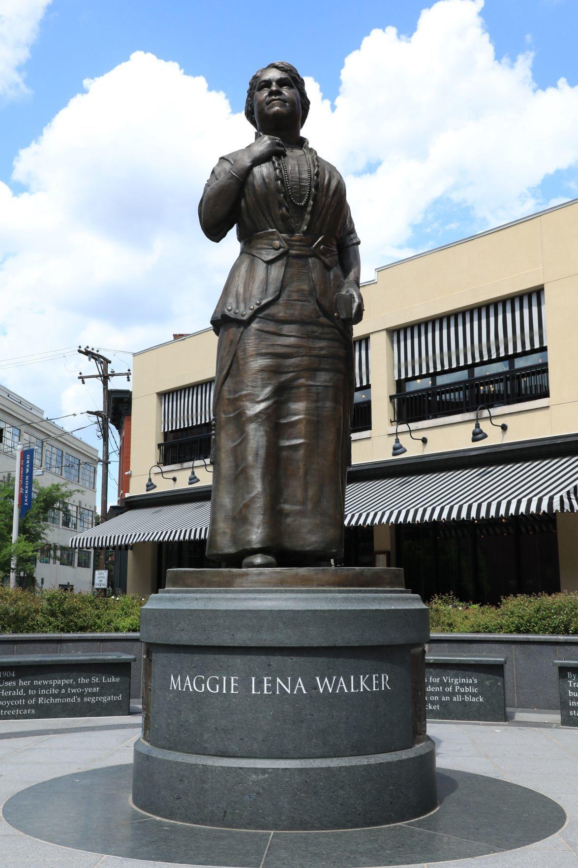 Maggie L. Walker statue
