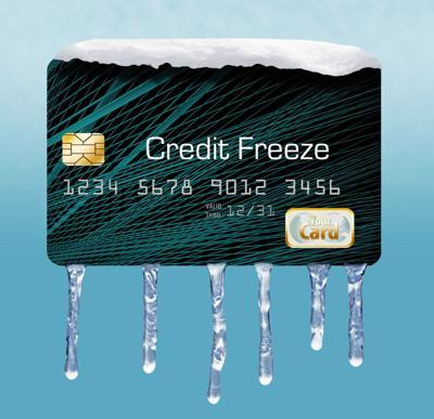 SPENDING credit freeze