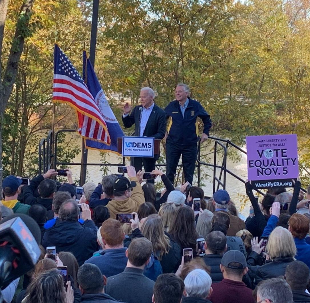 Biden in Loudoun