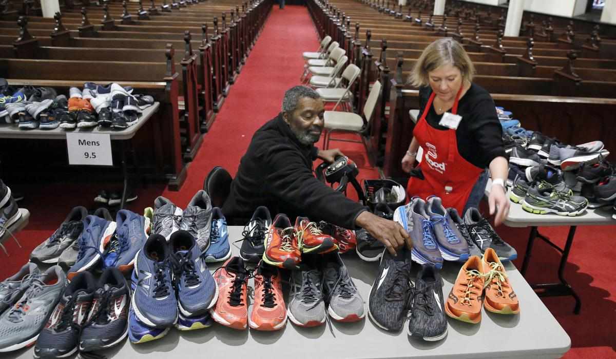 ... Making a Difference Two simple questions lead to shoes for hundreds 50165eaab