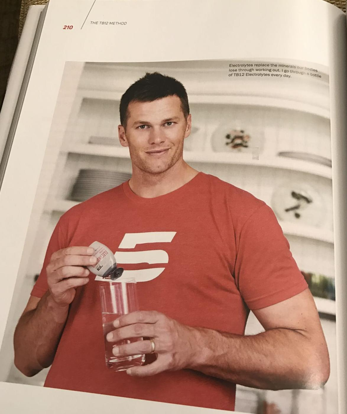 I followed Tom Brady's diet for a day, and I will never be thirsty