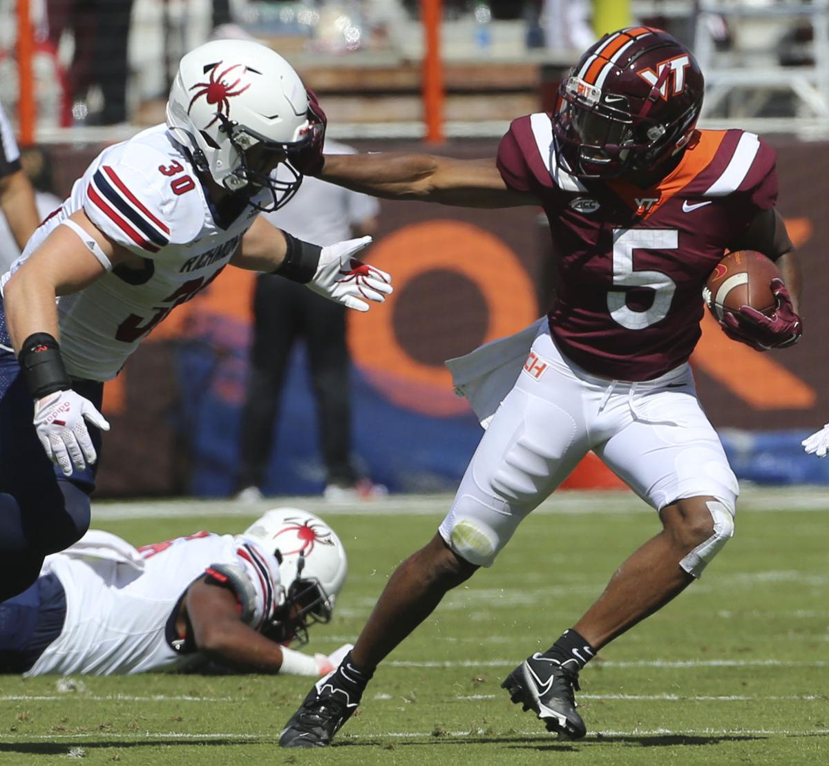 Richmond Virginia Tech Football