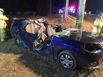 Powhatan woman injured in two-vehicle crash   Powhatan Today