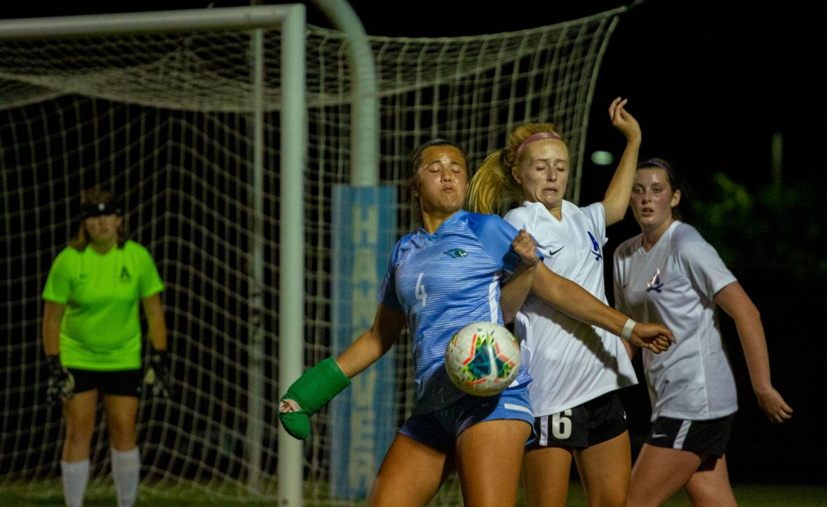 Atlee at Hanover girls soccer: Battle