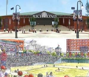 Ballpark plans mean big makeover
