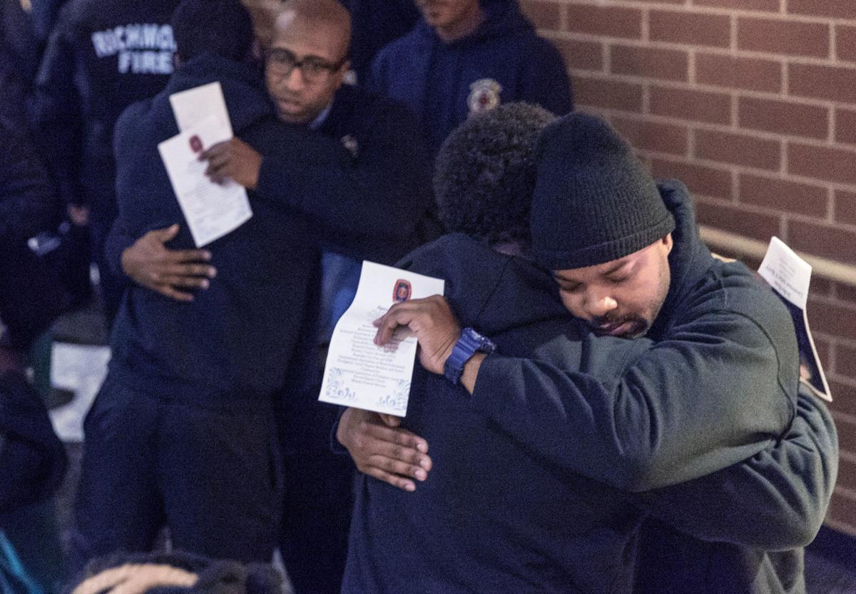 vigil service for Lt. Ashley Nicole Berry