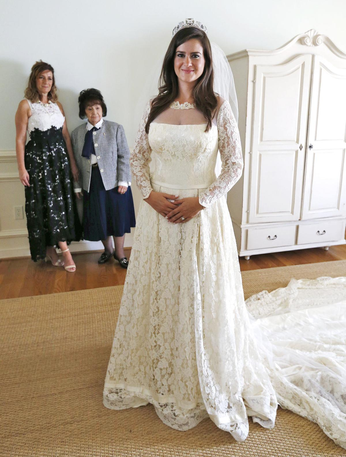 North chesterfield woman gets married in third generation for 3rd time wedding dresses