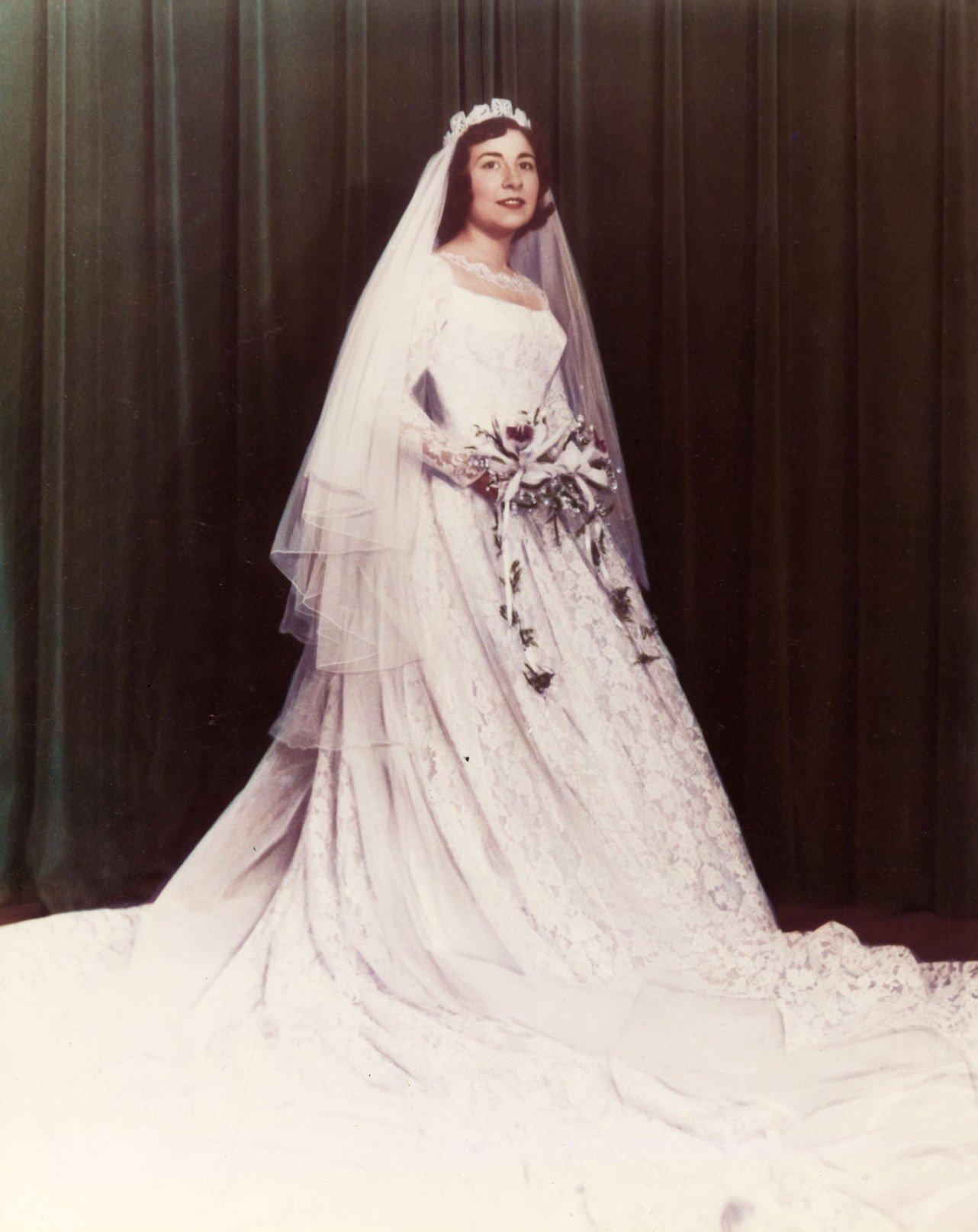 Third marriage wedding dress