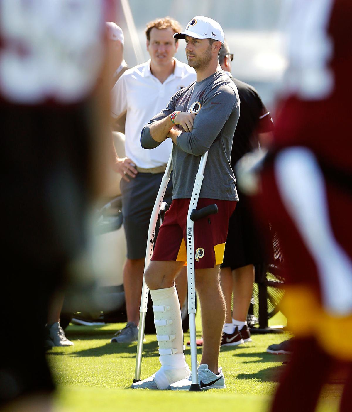 Espn S Alex Smith Documentary Pulls No Punches In Showing A Gruesome Injury And Courageous Recovery Professional Sports Richmond Com