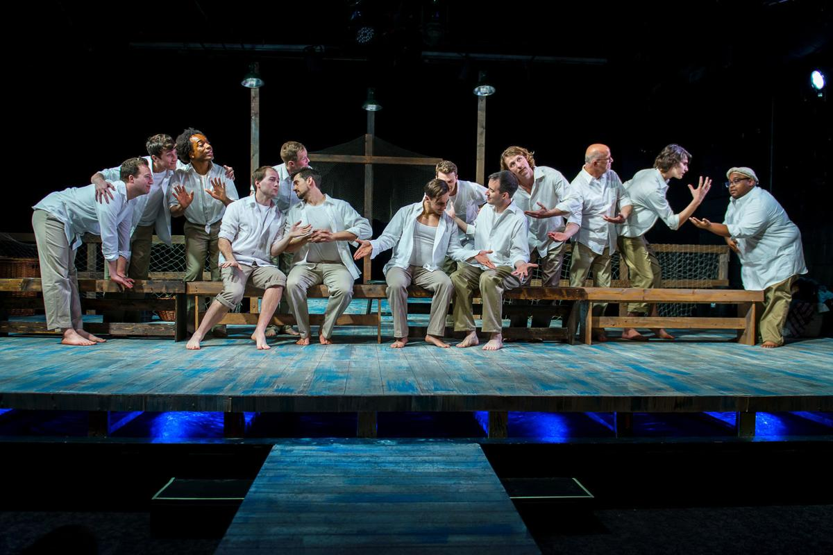Theater Review Corpus Christi In A World Filled With So Much