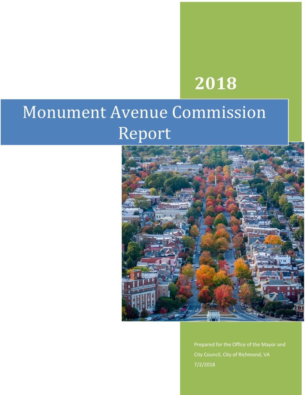Monument Avenue Commission final report