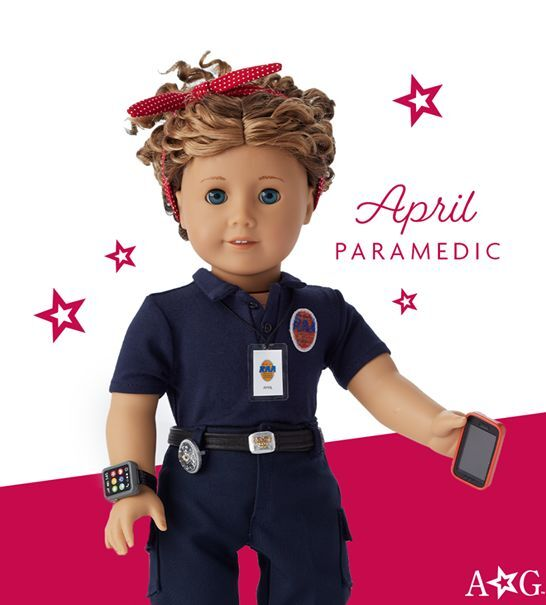 Richmond Ambulance Authority EMT Made Into American Girl Doll Following Niece's Nomination