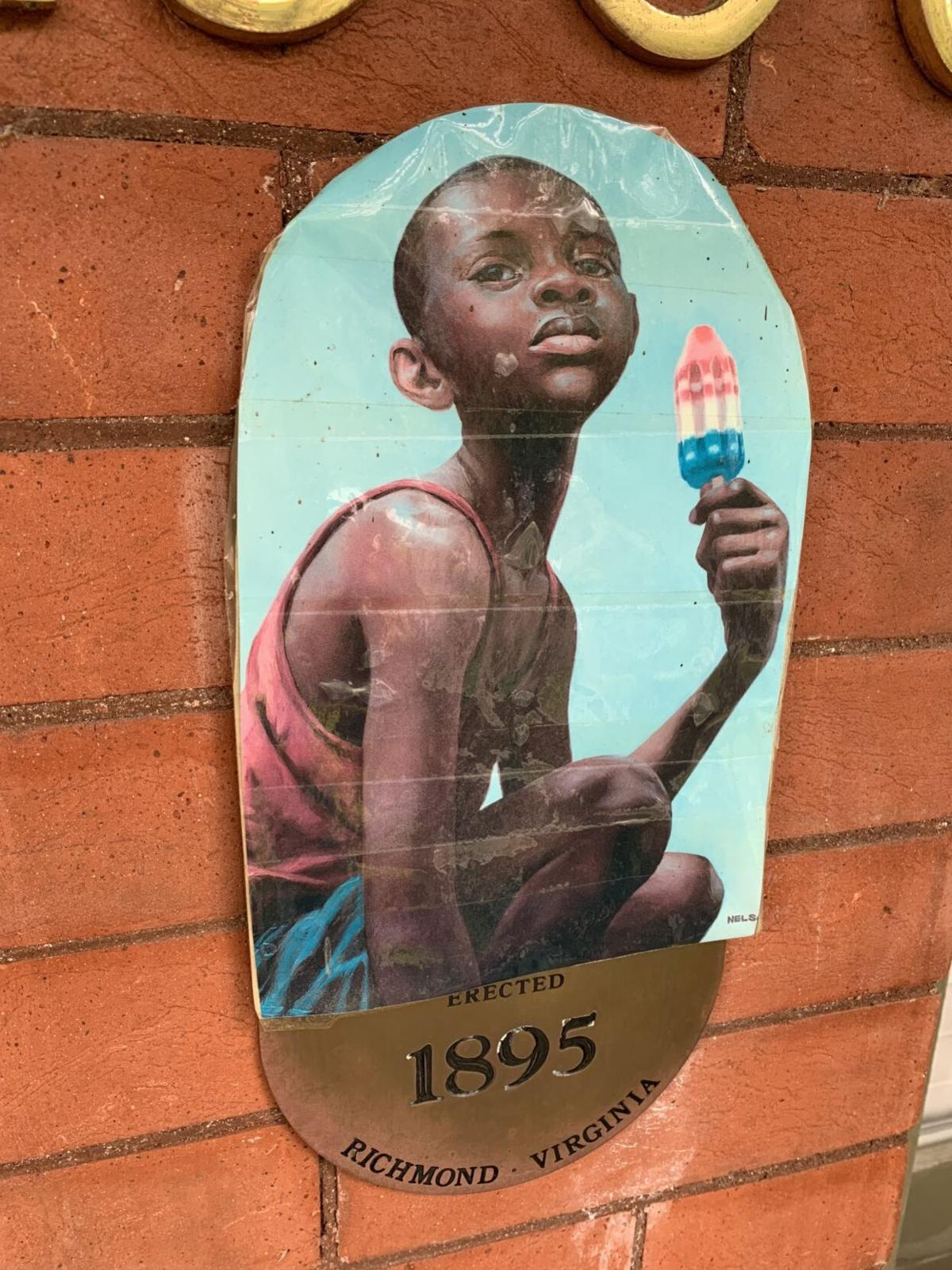 Plaque - Boy with Popsicle