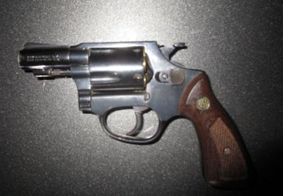 .38-caliber evolver seized by Chesterfield police in 2016 robbery