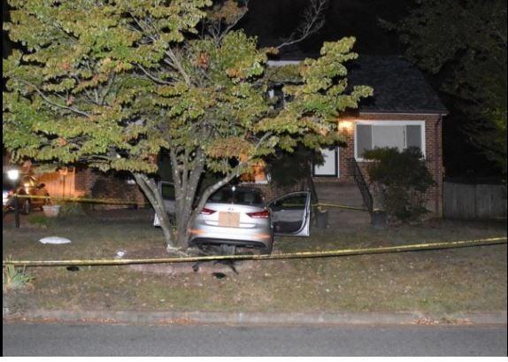 Bryson Mitchell was found with a gunshot wound inside this car on Gatesgreen Drive