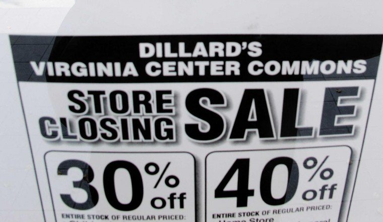 Dillard's closing Virginia Center Commons store | Business