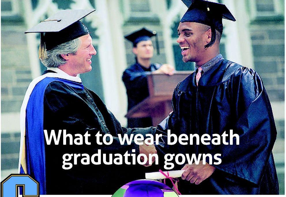 cac64536d03 What to wear beneath graduation gowns | | richmond.com