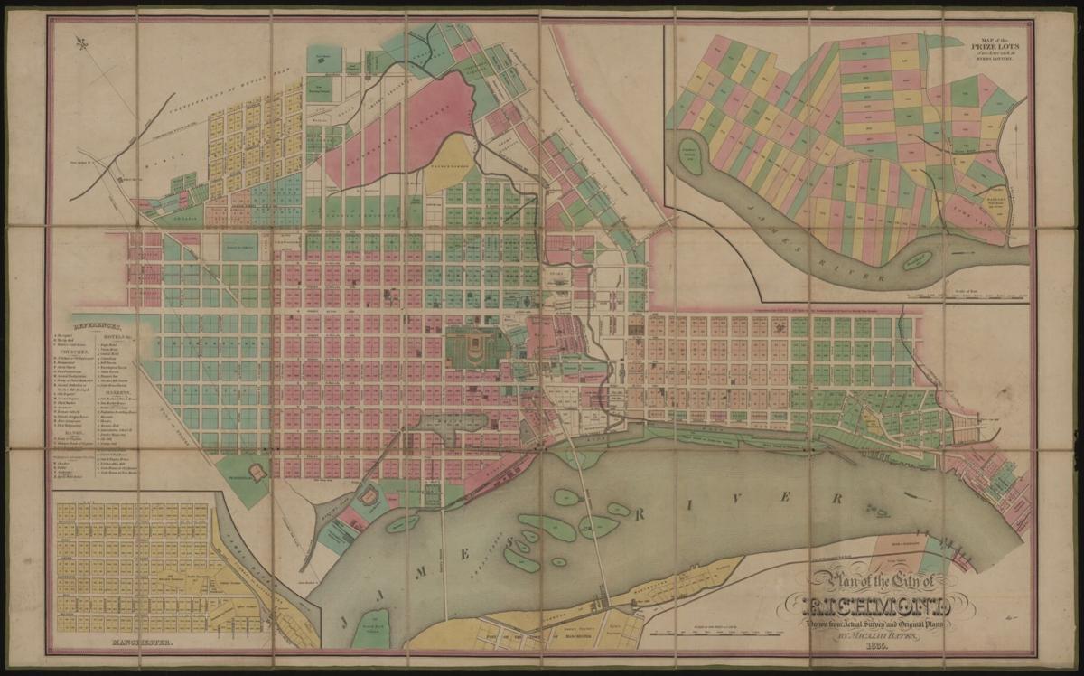 Bates Map 1835