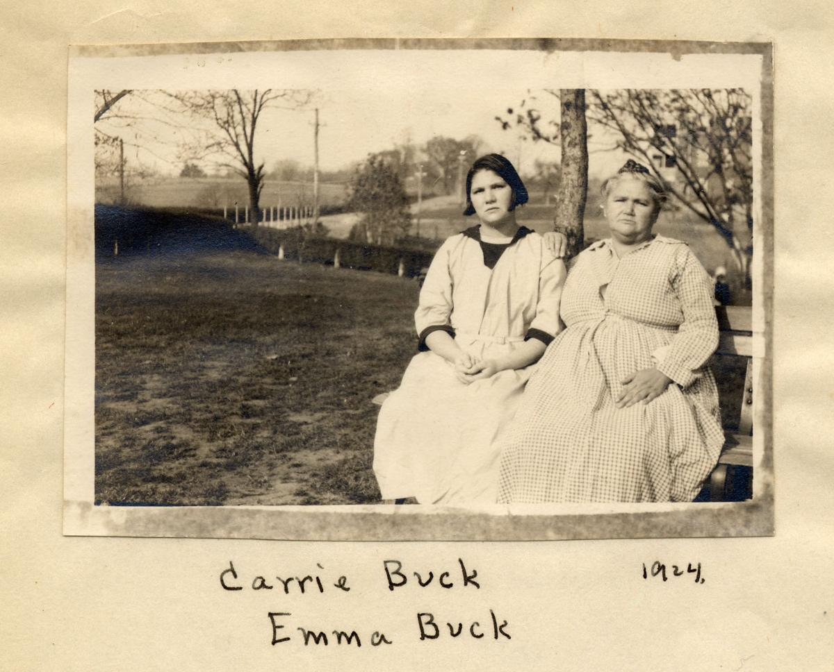 Carrie and Emma Buck
