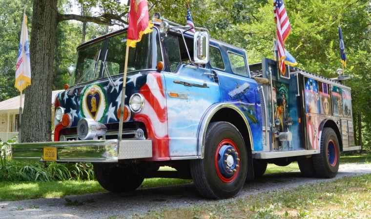The Purple Heart Truck