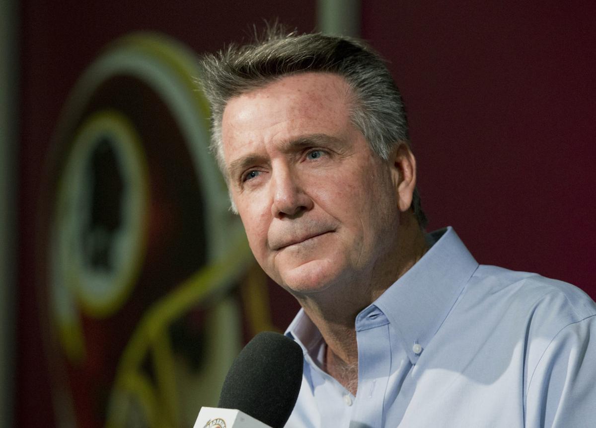 Redskins-Allen Fired Football