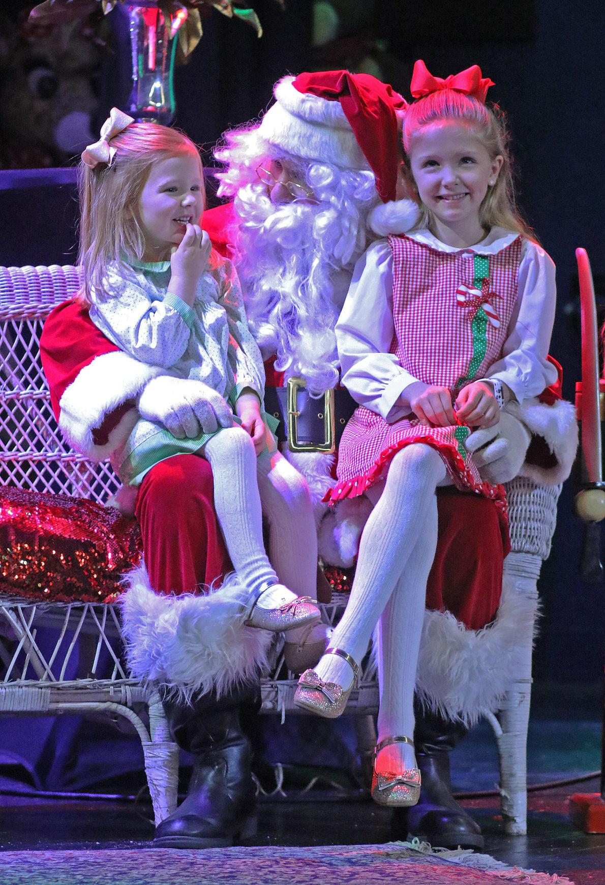 Santa's visit at The Ashland Theatre