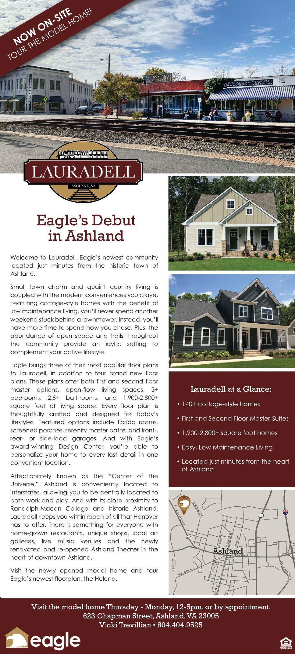 Lauradell: Eagle's debut in Ashland 01