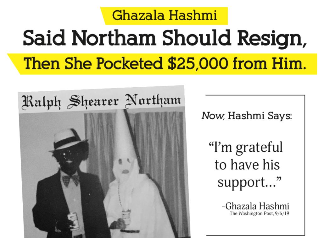 Sturtevant mail piece attacking Hashmi
