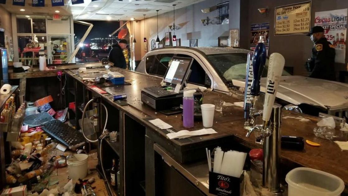 Motorist drives car into Spotsylvania restaurant