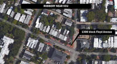 Police seek suspects after armed robbery near VCU